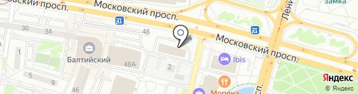 СМАРТ СИСТЕМ на карте Калининграда