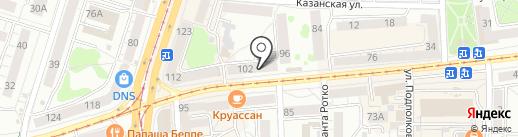 Власта на карте Калининграда