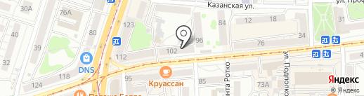 Книжная лавка на карте Калининграда