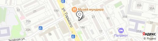 ФАРМАЦИЯ на карте Калининграда