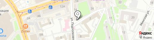 АвтоТех на карте Калининграда