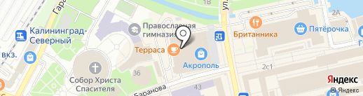 Royal spirit на карте Калининграда