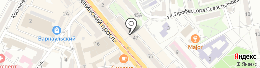 Хеликс на карте Калининграда