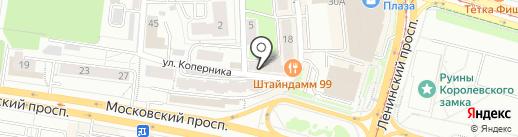 Мастерская визуальных продуктов Дениса Артемьева на карте Калининграда