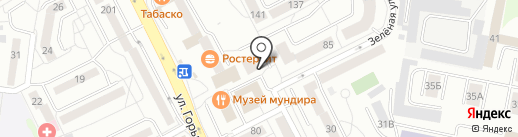 Центральный Ломбард на карте Калининграда