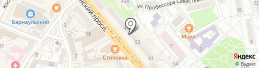 Амбер Маркет на карте Калининграда