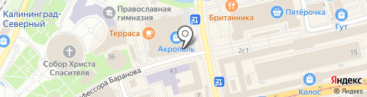 Центр Юридических Услуг на карте Калининграда