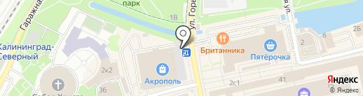 МФО МГИиС на карте Калининграда