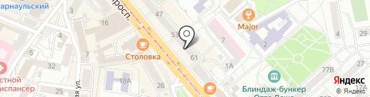 Одежда из Европы на карте Калининграда