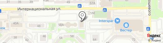 Хлеб из тандыра на карте Калининграда