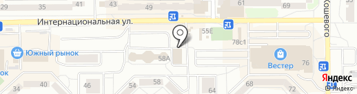 Царь Пончик на карте Калининграда
