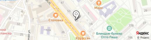 O`lala! на карте Калининграда