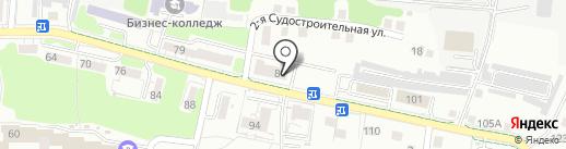 Mon Ami на карте Калининграда