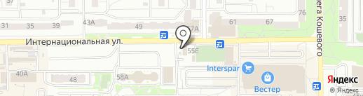 Азар на карте Калининграда