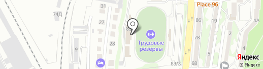 Балтийская федерация Джиу-джитсу на карте Калининграда