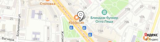 Агентство страхований Александры Бойко на карте Калининграда