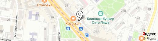Dance Hall by Mohini Murti на карте Калининграда
