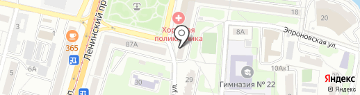 Сказка на карте Калининграда