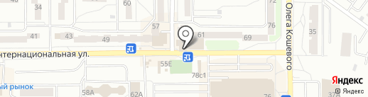 Фотоателье на карте Калининграда