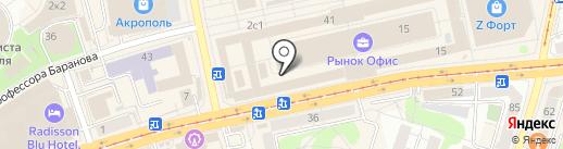 Бюджетная аптека на карте Калининграда