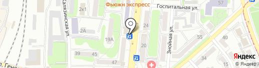 KEBAB KING на карте Калининграда