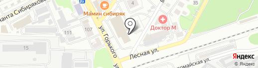 Exit39 на карте Калининграда