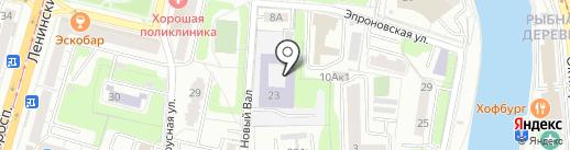 Калининградская региональная спортивная общественная организация Вин Чунь на карте Калининграда