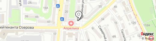Кайт школа с Юлией Липовской на карте Калининграда