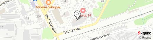 Свобода на карте Калининграда