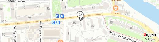 Ринтек на карте Калининграда