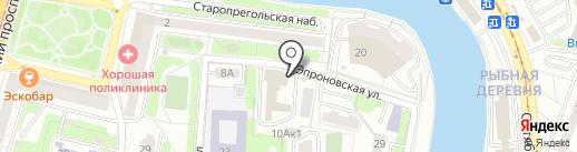 Amber Home на карте Калининграда
