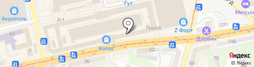 Ловись рыбка на карте Калининграда