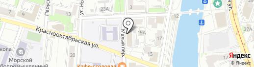 Бизнес Кейс на карте Калининграда