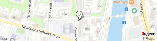 КВЕСТРУМ.РФ на карте Калининграда