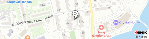Промэнергоучет на карте Калининграда
