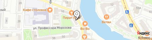 Барин & Barber на карте Калининграда