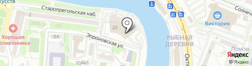 ПрофЭксперт на карте Калининграда