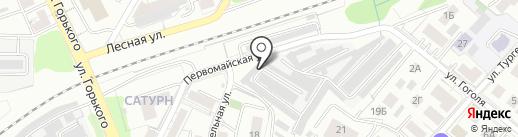 Сервисный центр по ремонту электроинструмента и бензоинструмента на карте Калининграда