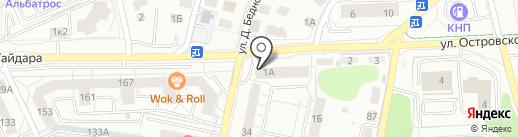 Джем на карте Калининграда