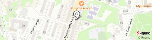 Top Step на карте Калининграда