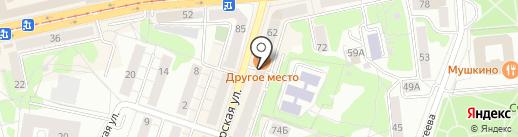 HookahPlace Kaliningrad на карте Калининграда