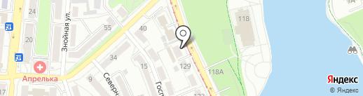 НИИ прикладной информатики и математической геофизики на карте Калининграда
