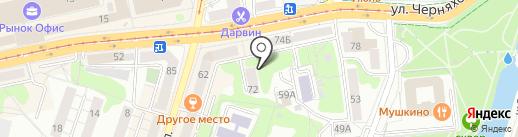 OK-SHOES.RU на карте Калининграда