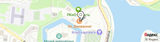 Street chef на карте Калининграда