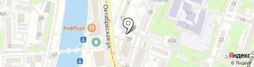 УК РСУ-5 на карте Калининграда