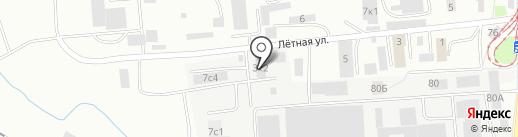 Свема на карте Калининграда