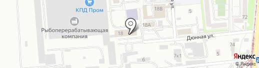 Платежный терминал, КБ ЭНЕРГОТРАНСБАНК на карте Калининграда
