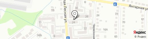 Электрон 39 на карте Калининграда