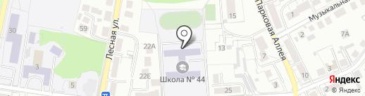 Ганзейская ладья на карте Калининграда