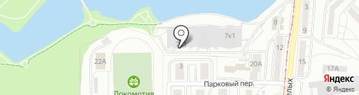 Вершина на карте Калининграда